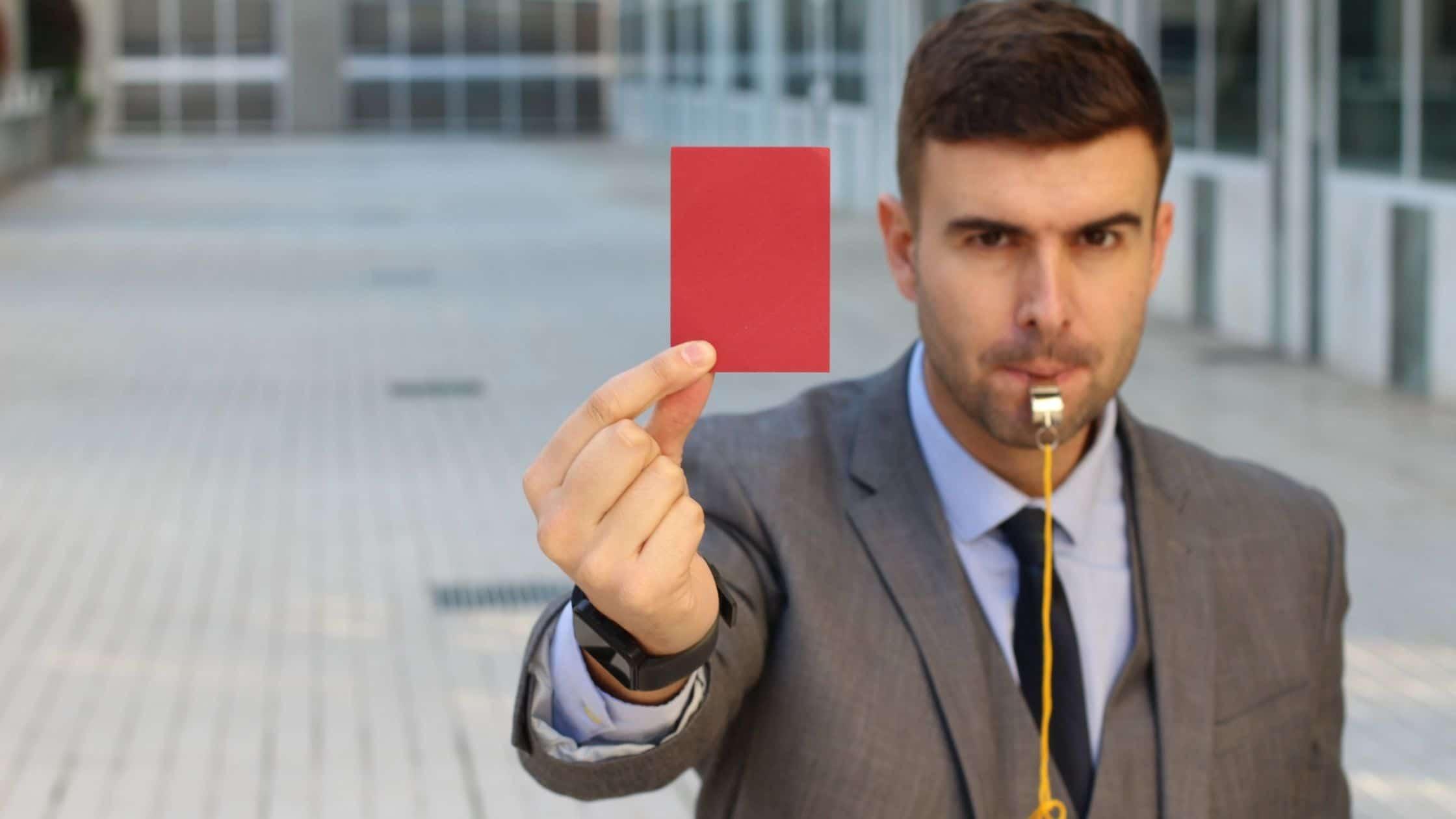 le carton rouge de Stripe