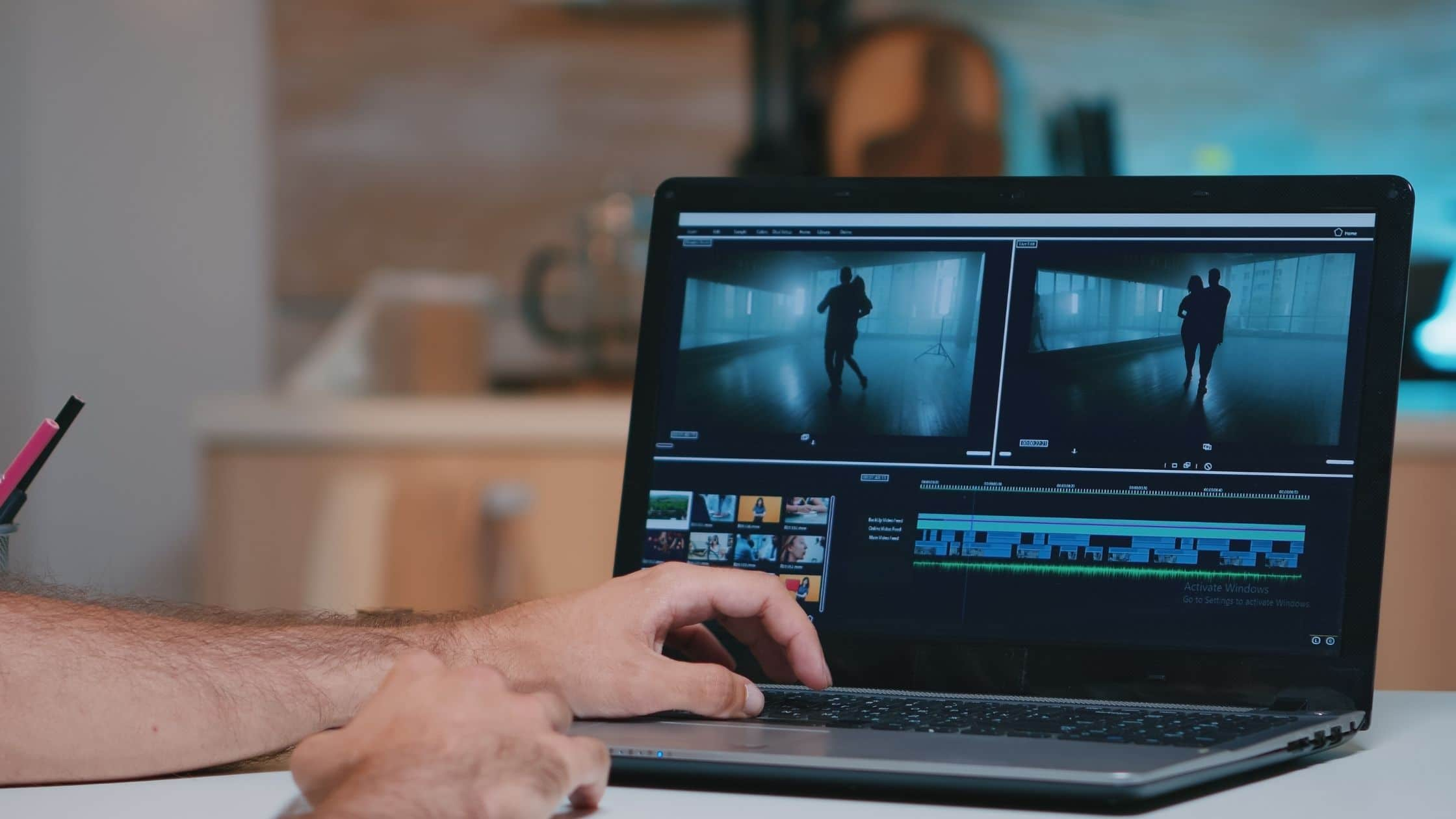 création de projets vidéos