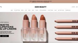 site cosmétique Shopify