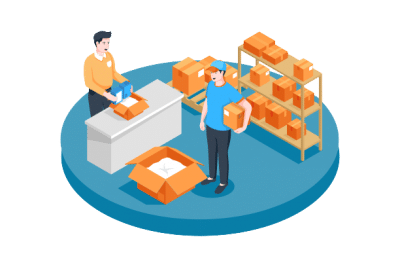négociant e-commerce